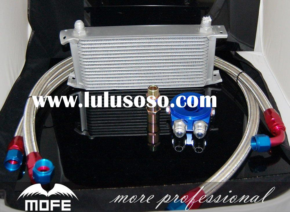 Auto oil cooling system of 13 rows