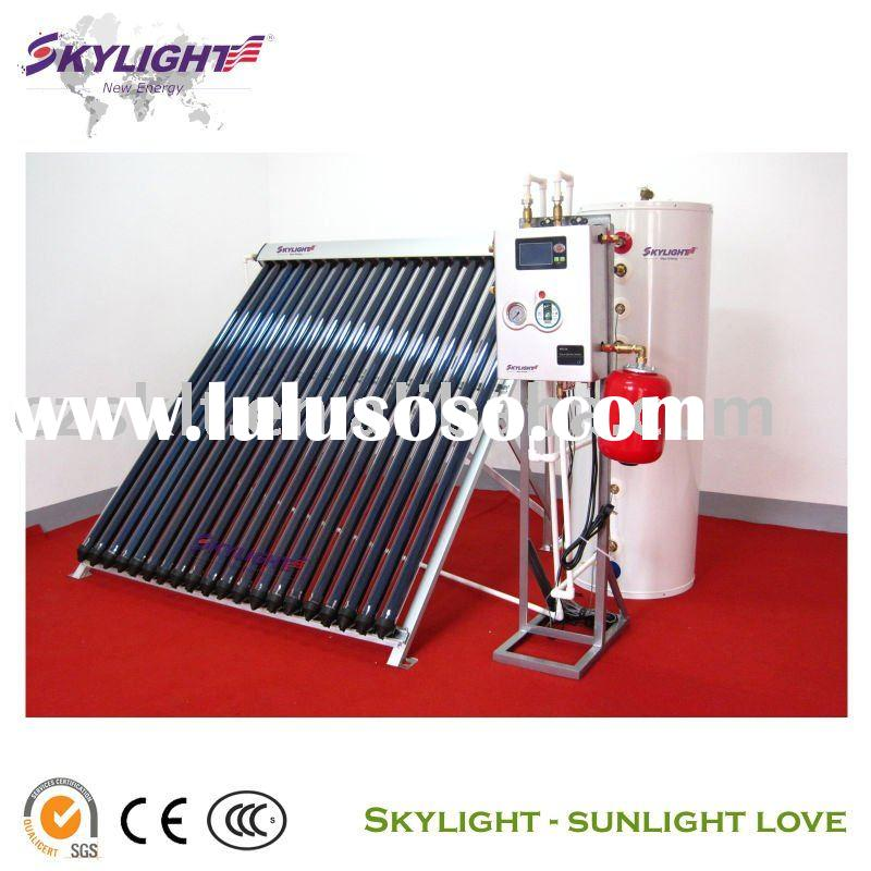 Closed Loop Heat Pipe Solar Water Heater System, manufacturer since 1998, SGS,BV ISO9001-2008 Approv