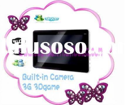Cool!! 7 inch win CE  tablet pc with touch pad /wifi /3G /3D game