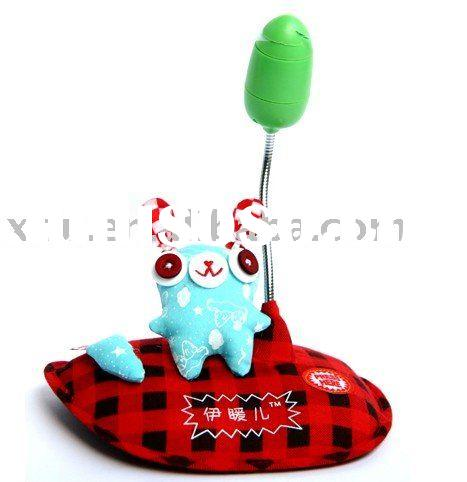 Creative handmade cloth electric USB+Batteries fan,Mini table air fan