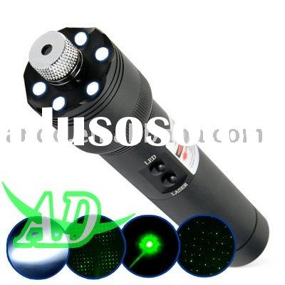 Green Laser Pointer 200mW and LED Torch Light Ultra Power G200