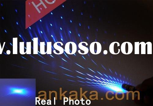 High Power 50mW Blue-Violet Multi-Pattern Laser Pen - Professional Design & Portable