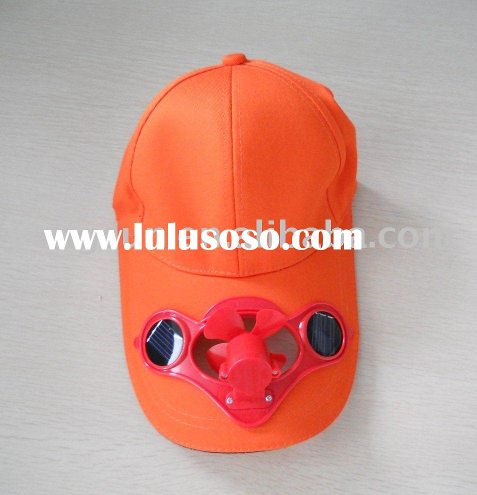 Solar Cap, with Cooling Fan