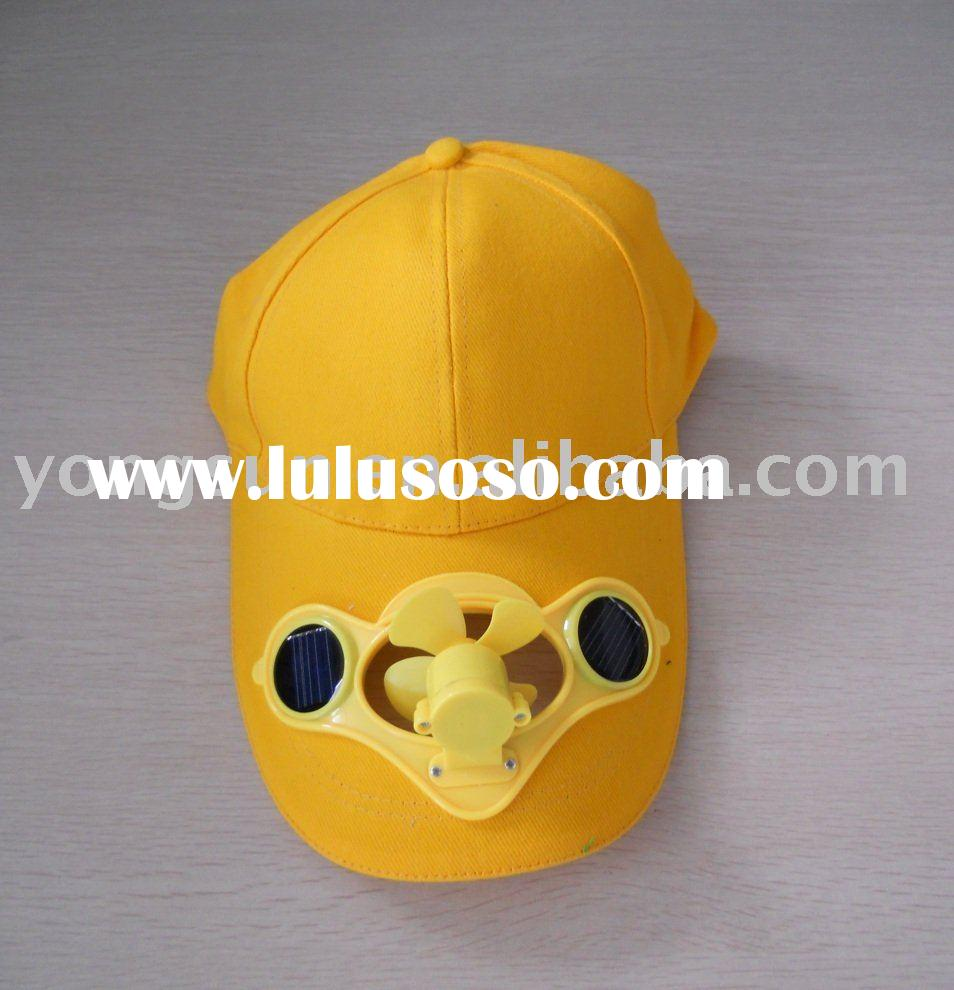 Solar Hat, with Cooling Fan