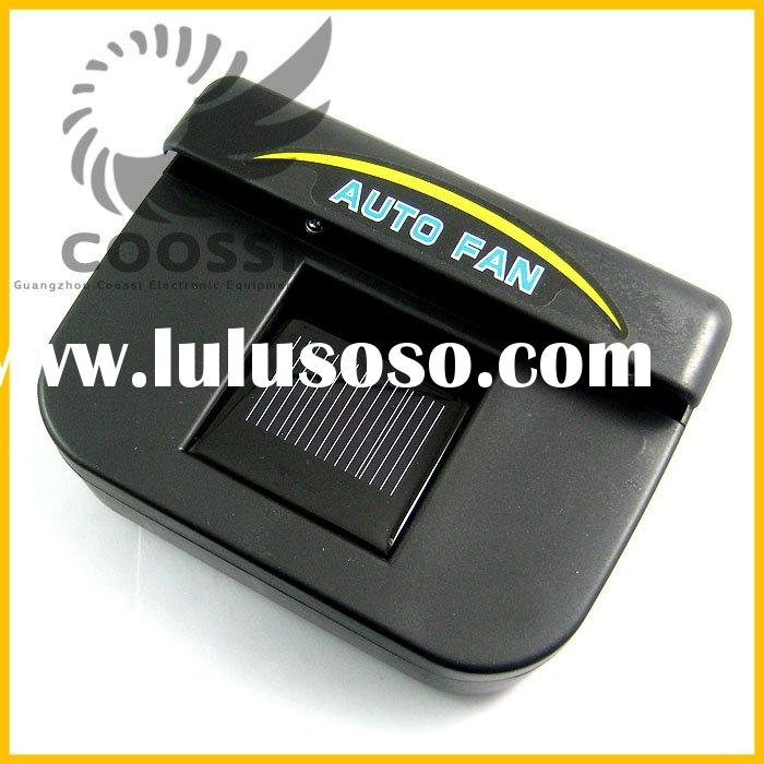 Solar Powered Car Air Vent Solar powered Car Cooling Fan Solar powered Fan [CP137]