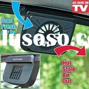 Solar Sun Power Car Auto Air Vent Conditioning Cool Cooler Cooling Fan Auto fan