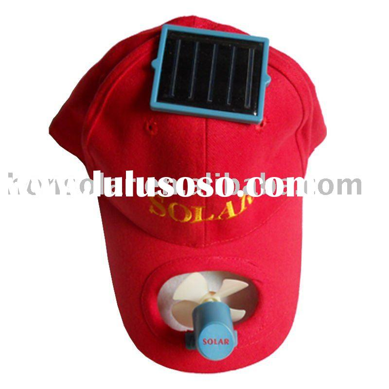 Summer solar cooling cap for adult and kids