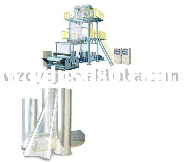 Two Layers Co-extrusion Plastic Wrapping Film Making Machine