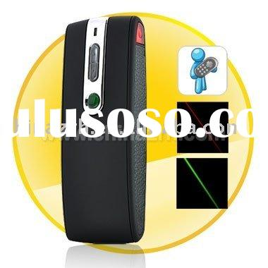Wireless Presenter with Green and Red Laser Pointer