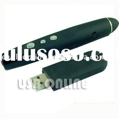 Wireless USB laser pointer for PowerPoint Presenter