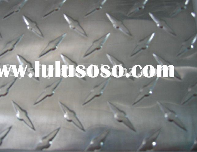 bright aluminum diamond plate