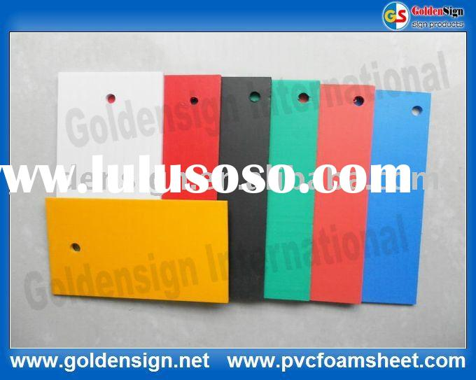 color pvc plastic sheet