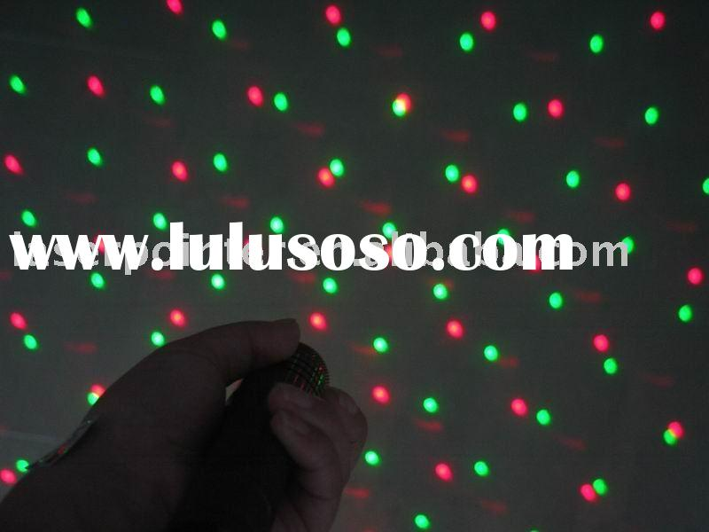 green plus red   Laser Pointer with starriness