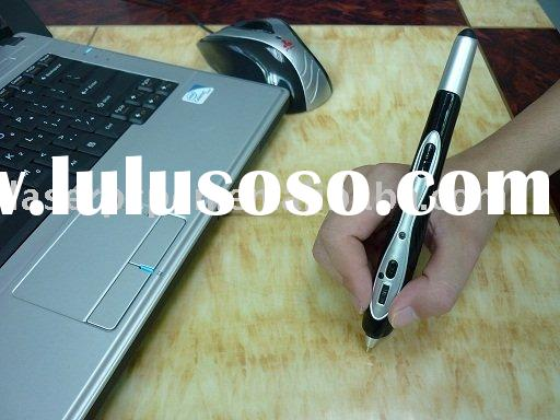 pen mouse=digital pen+mouse+laser pointer+keyboard