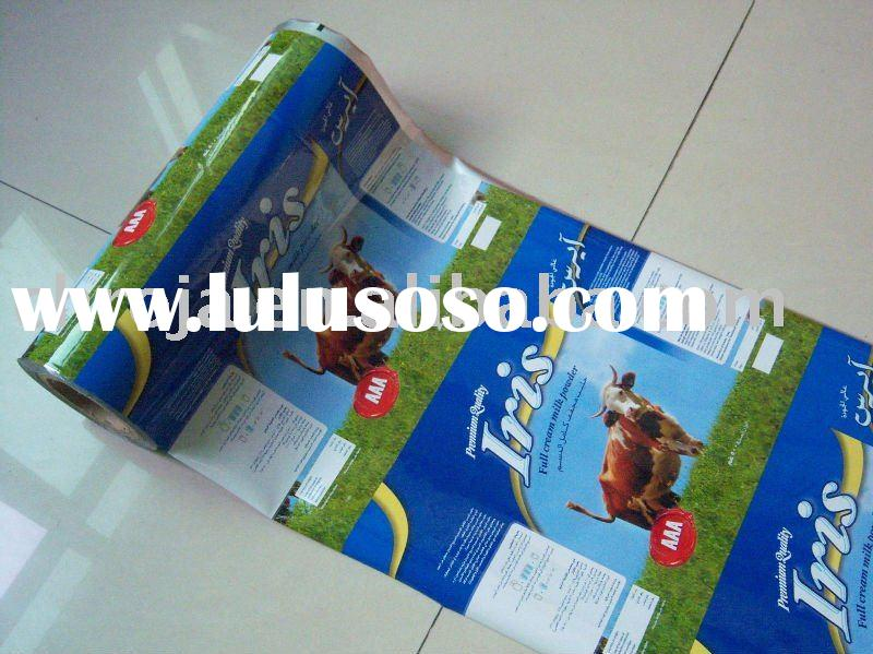plastic food packaging film/aluminum foil packaging film in roll/food packaging roll