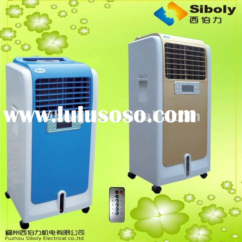 residential portable evaporative air cooling