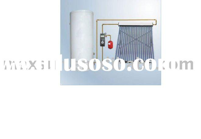 separated and pressurized-bearing solar water heater plans