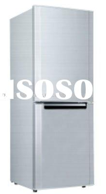 158L Double Door DC Solar Refrigerator with CE/RoHS