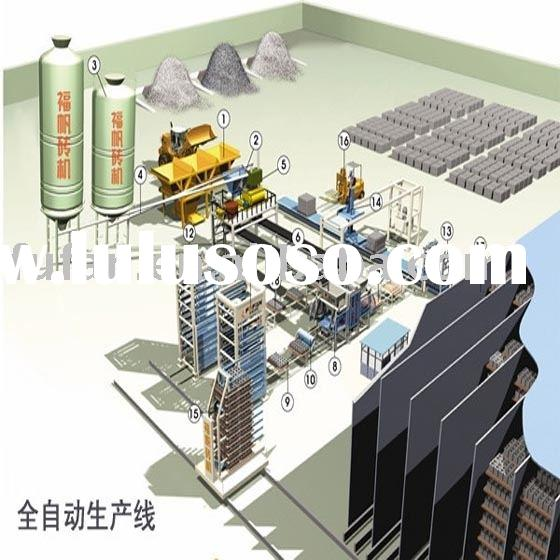 Automatic block machinery,block making machine,block production line