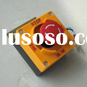 Emergency Stop Switch Box, elevator parts, emergency push button switch