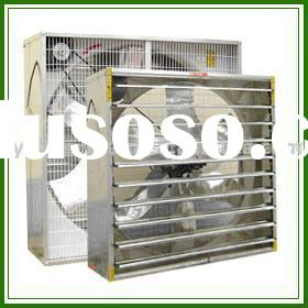 Exhaust Fan with Stainless and Galvanized Steel Blades