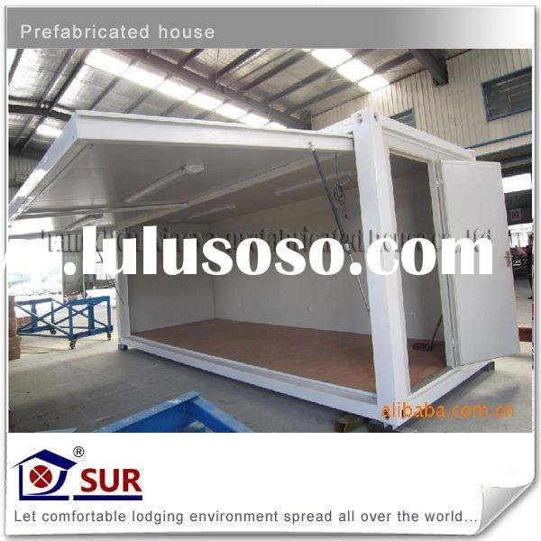 Foldable container shop(movable house,mobile house)
