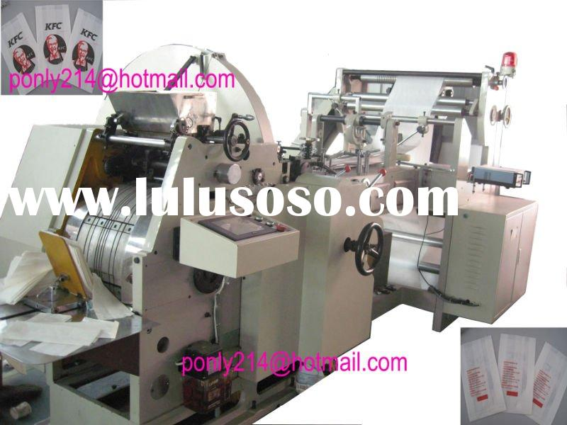 Full Automatic Food Paper Bag Making Machine