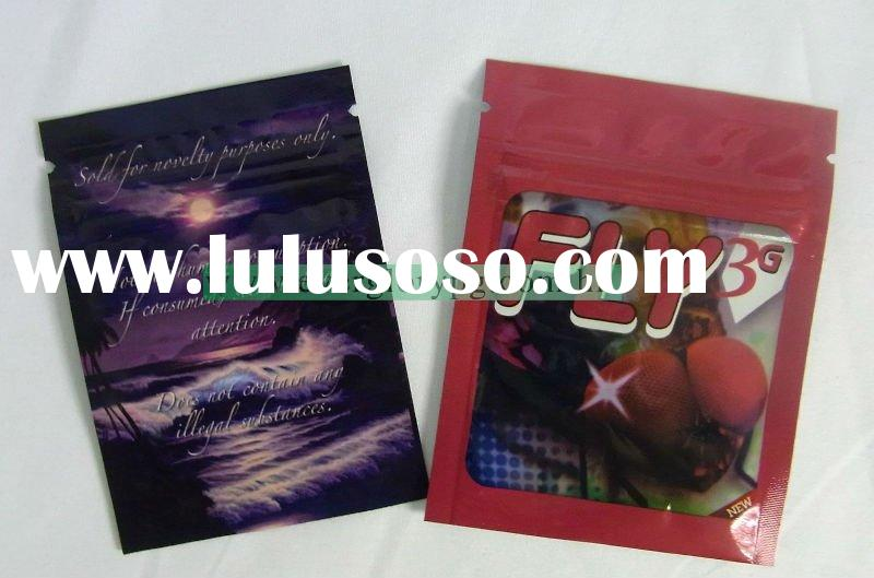 Herbal smoking incense bags for herbs packaging 1g 3g