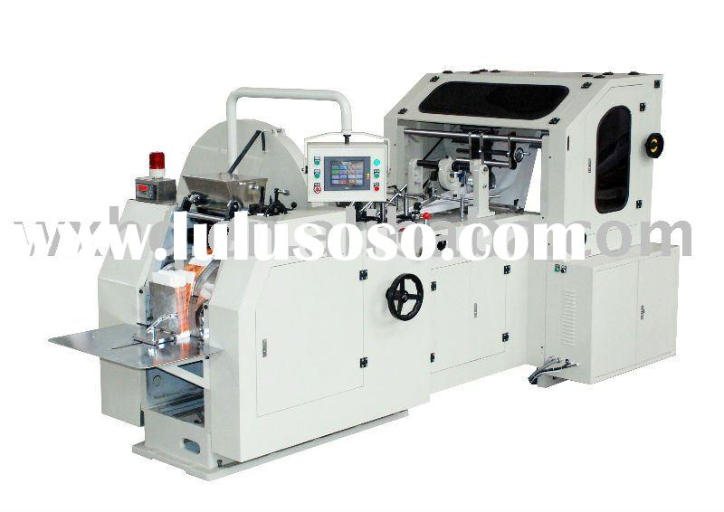 High Speed Auto Paper Grocery Bag Machine