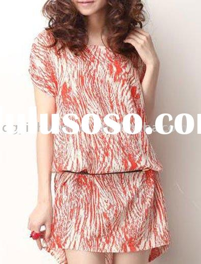 Ladies Printed Casual Cotton Dress