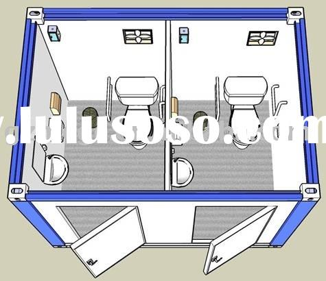 Mobile toilets -- Container Toilet