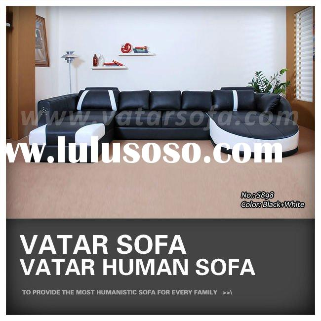 S898 Luxury Leather Sofa