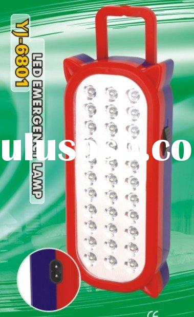 YJ-6801 Rechargeable LED Emergency light (wall mount, handle)