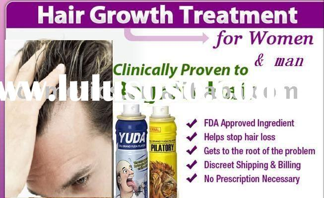 YUDA Pilatory Medicinal Hair Growth Product for hair growth nourishing especially, GMP standard