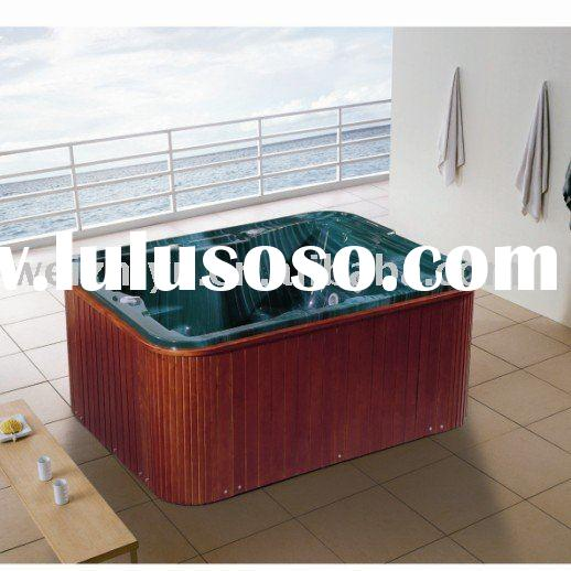 acrylic massage outdoor whirlpool spas for 6 people use