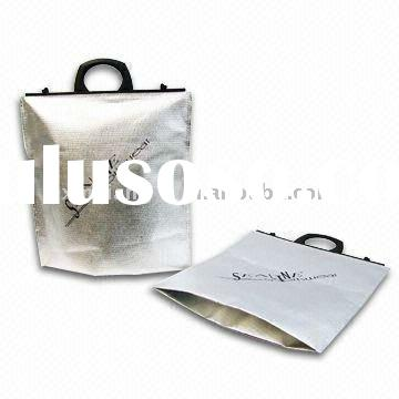 food aluminum foil bag with plastic handle promotion with high quality