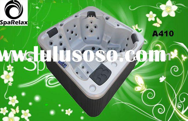 outdoor whirlpool, massage bath, acrylic hot tub A410
