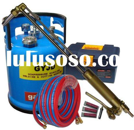 oxy-gasoline cutting and welding equipment
