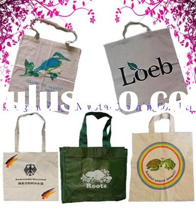 recycled PET shopping bags