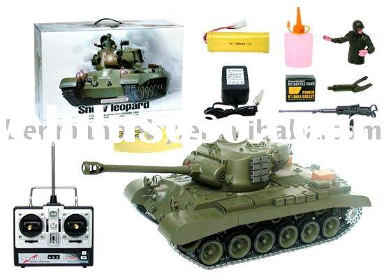 1:16 RC Tank / Remote Control Series / HL  3838-1 Snow  Leopard with Sound, Light and Smoking