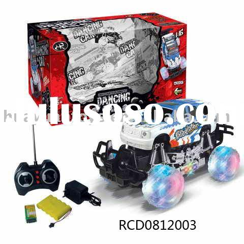 2011 Hot Sell 7 channel Radio Control Car with light and music RCD0812003