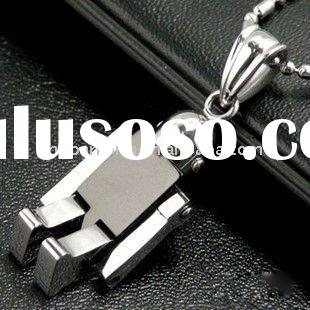 2011 new style transformers robot necklace