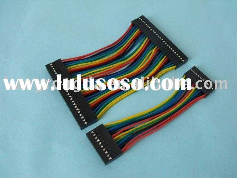 2.54mm pitch dual row wire harness