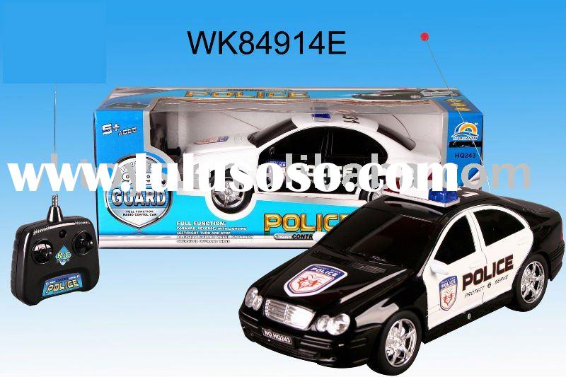 4ch radio control police car toy with charger