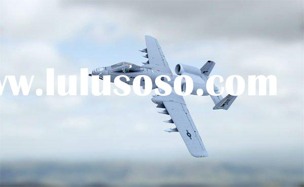 A-10 Remote control airplane model toy kit