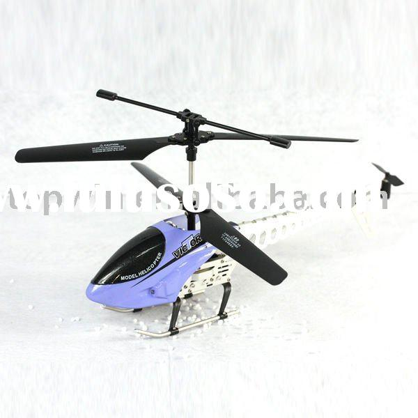 Alloy 3-channel remote control helicopters rc toy with gyro