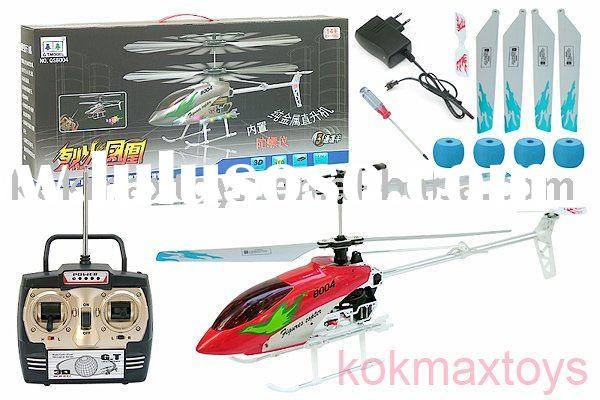 Battery Operated Big Size Super Bright Gyro Strong Metal Frame RC Outdoor-Helicopter