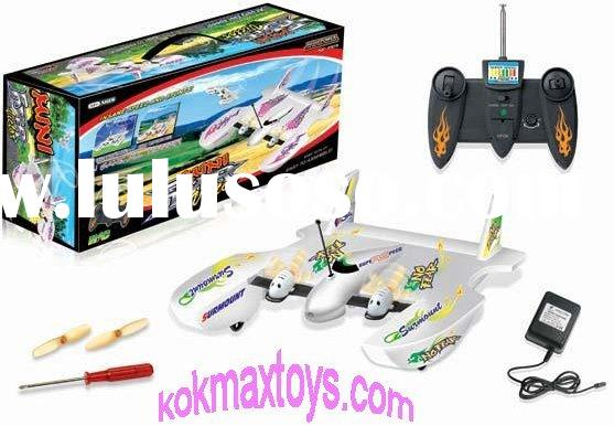Battery Operated New 3D Remote Control Electric RC Airplane flying boat