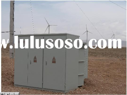 Combined Transformer for Wind Power Generator