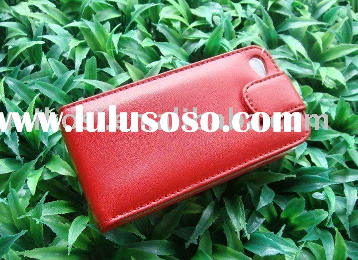 Custom-made genuine leather case for Iphone4G